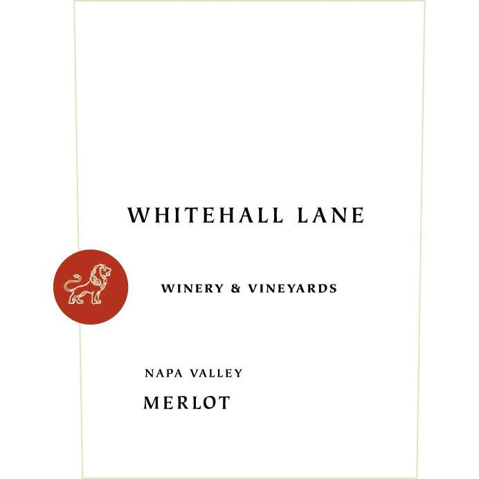 Whitehall Lane Merlot 2013 Front Label