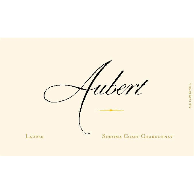 Aubert Lauren Vineyard Chardonnay 2013 Front Label
