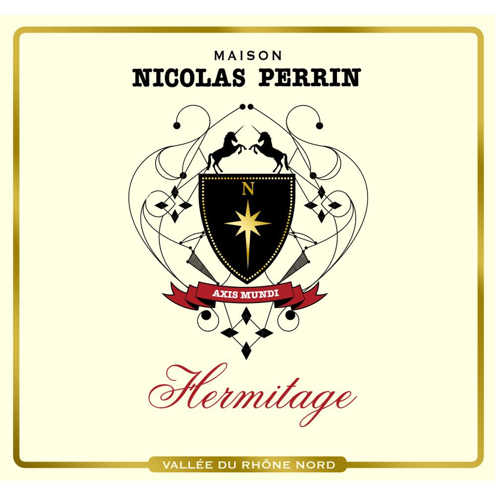 Maison Nicolas Perrin Hermitage Rouge 2012 Front Label