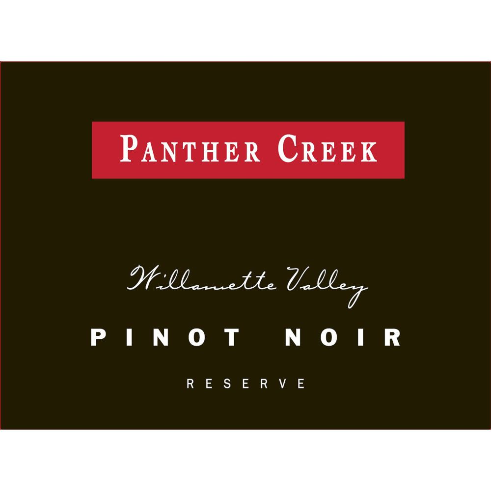 Panther Creek Reserve Pinot Noir 2011 Front Label
