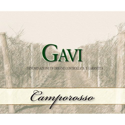 Camporosso Gavi 2013 Front Label