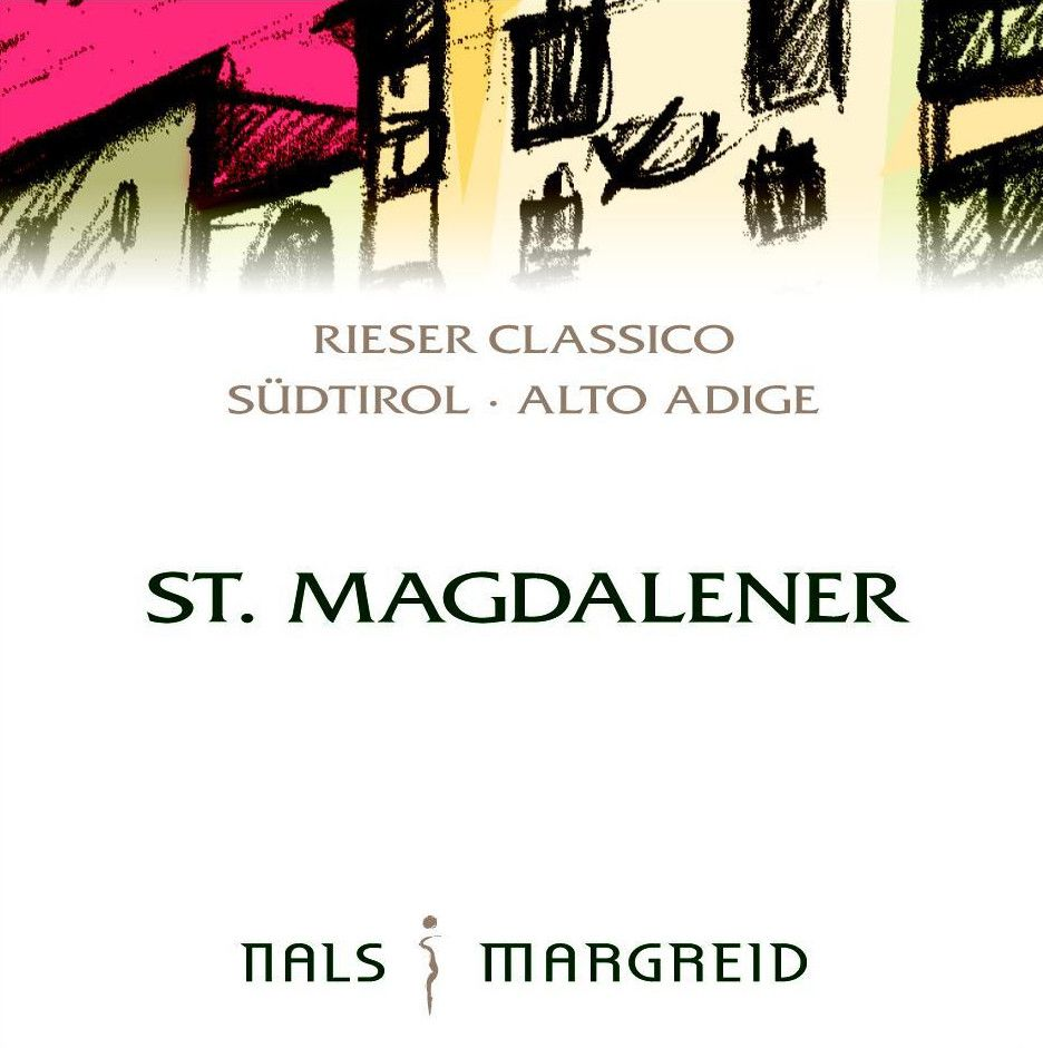 Nals Margreid St. Magdalener Rieser Classico 2012 Front Label