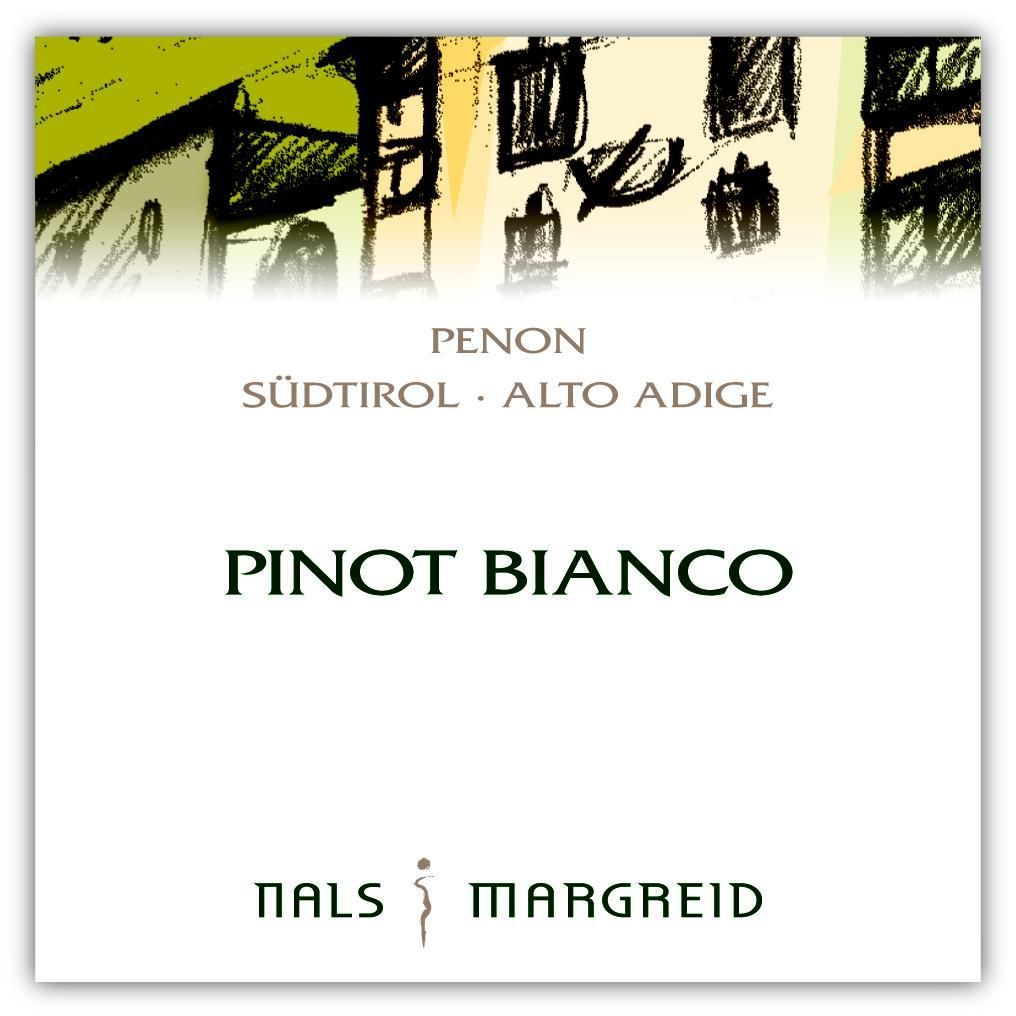 Nals Margreid Penon Pinot Bianco 2012 Front Label