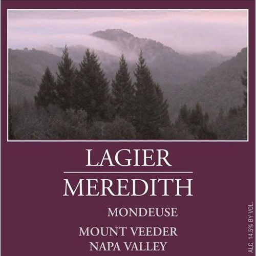 Lagier Meredith Mondeuse 2012 Front Label