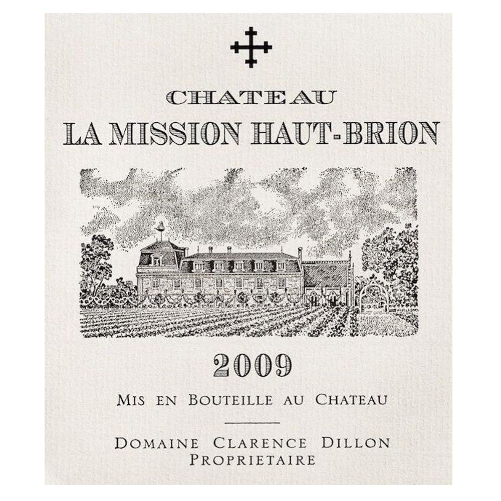 Chateau La Mission Haut-Brion Blanc 2009 Front Label