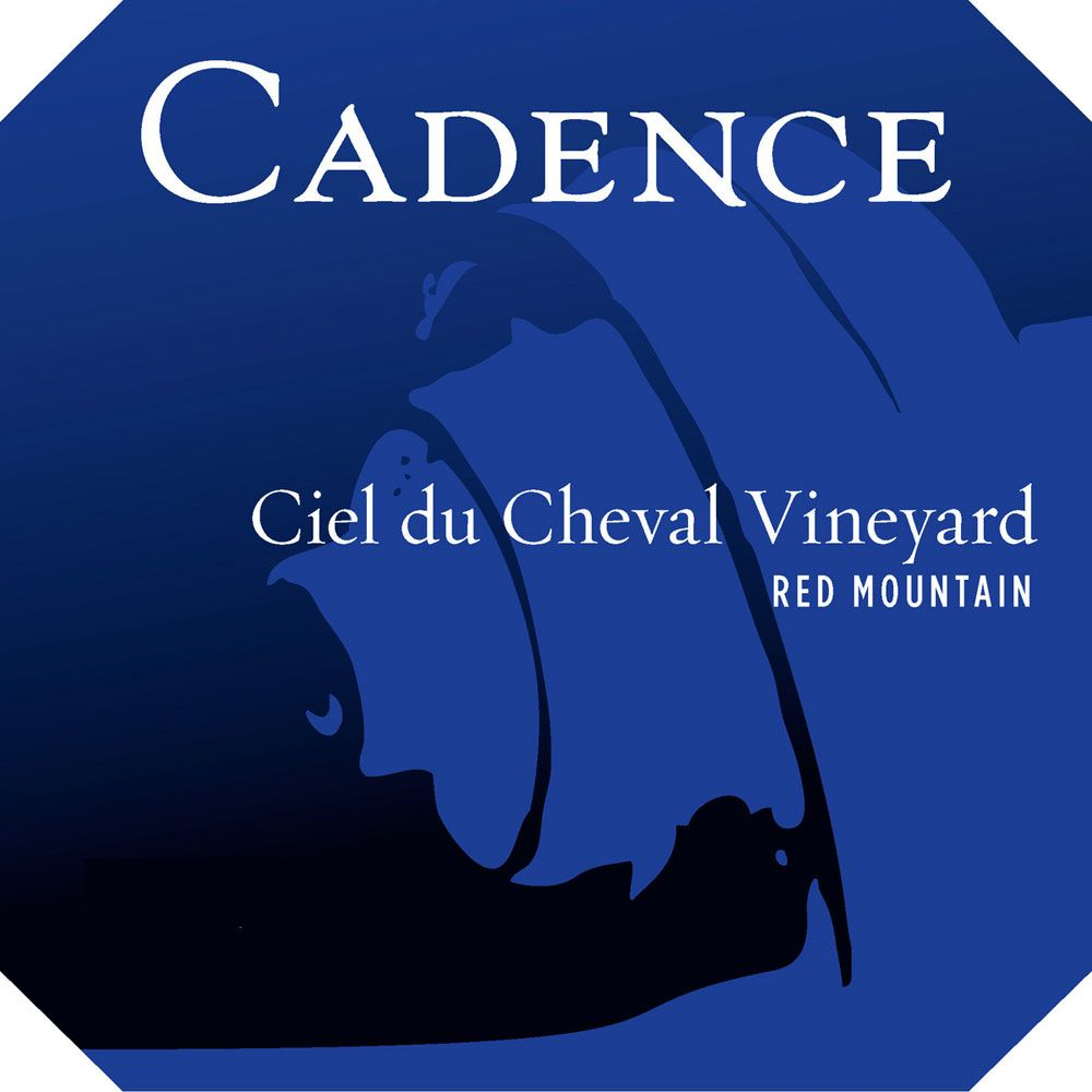 Cadence Ciel du Cheval (375ML half-bottle) 2010 Front Label