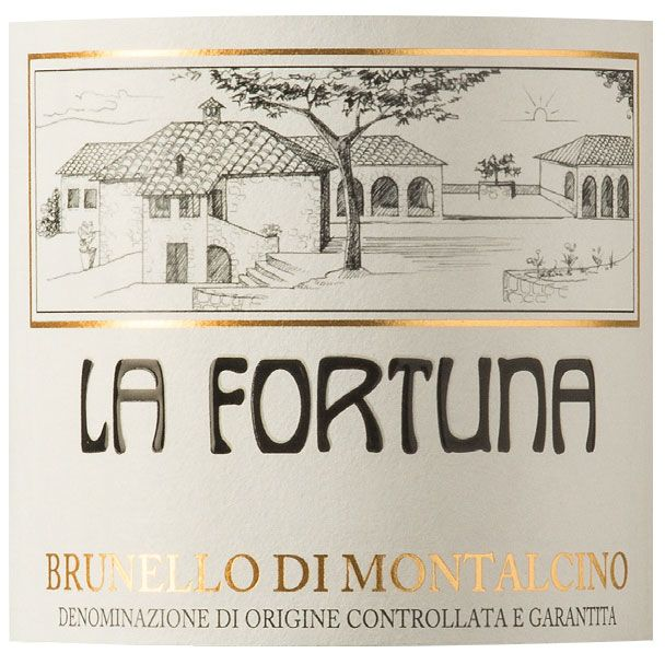 La Fortuna Brunello di Montalcino 2010 Front Label