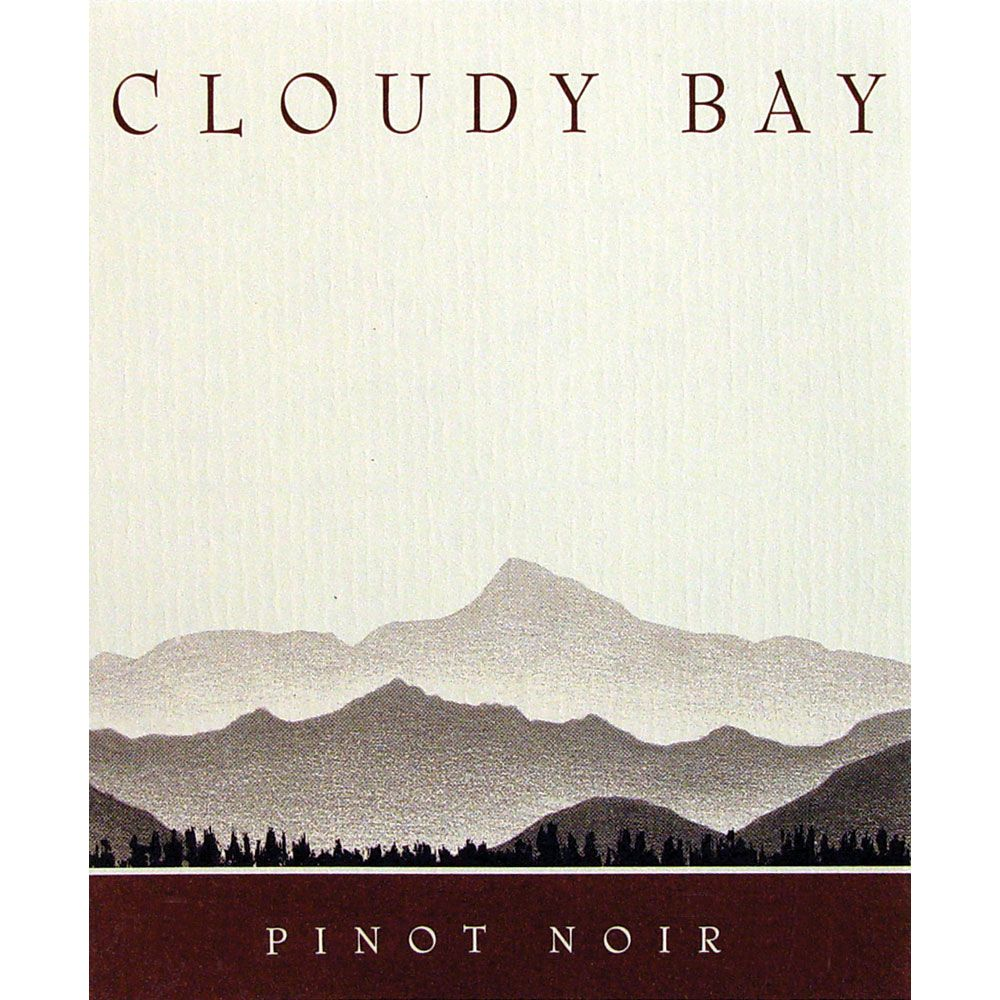 Cloudy Bay Pinot Noir 2013 Front Label