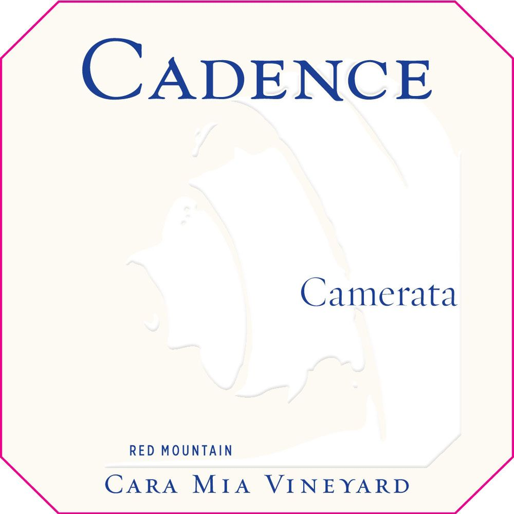Cadence Cara Mia Vineyard Camerata (375ML half-bottle) 2010 Front Label