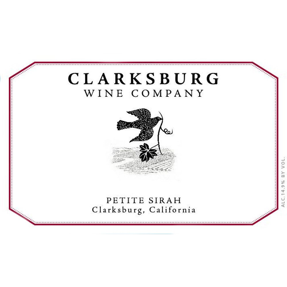 Clarksburg Wine Company Petite Sirah 2011 Front Label