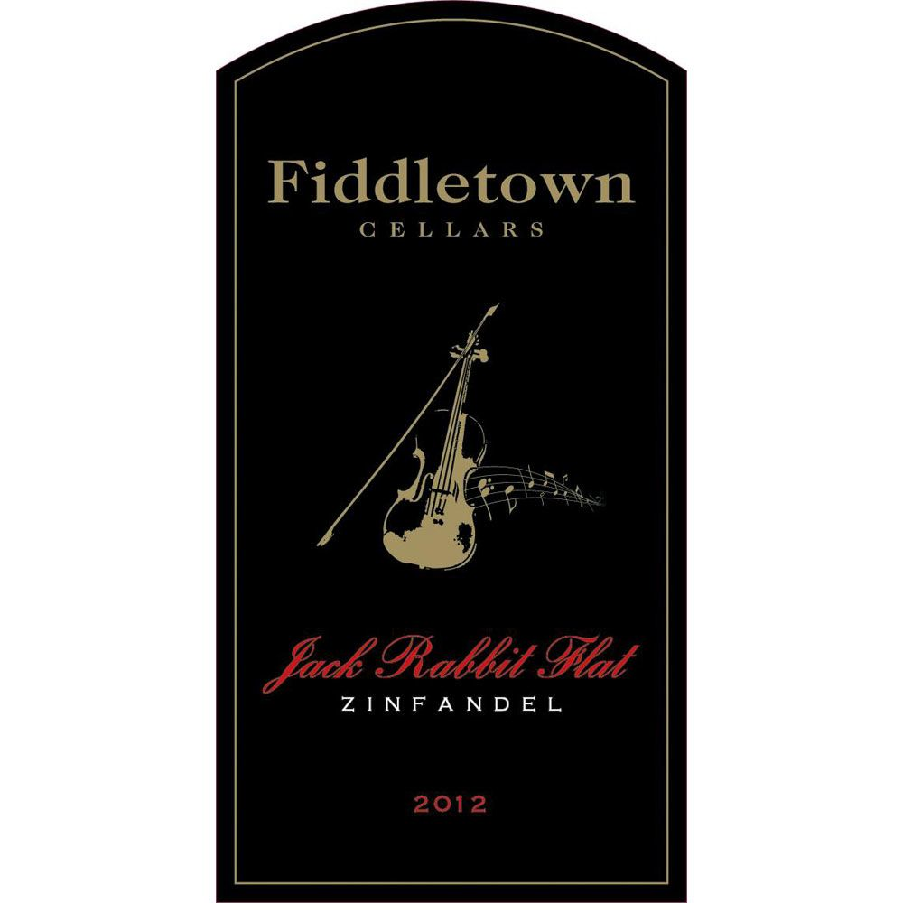 Fiddletown Jack Rabbit Flat Zinfandel 2012 Front Label