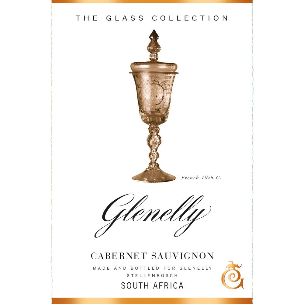 Glenelly Glass Collection Cabernet Sauvignon 2012 Front Label