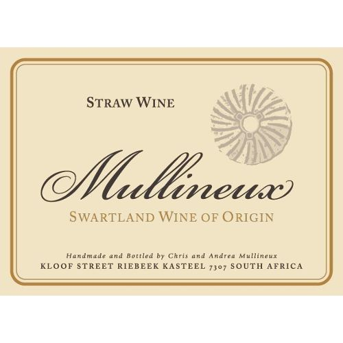 Mullineux Family Wines Straw Wine (375ML half-bottle) 2011 Front Label