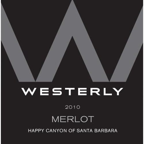 Westerly Merlot 2010 Front Label