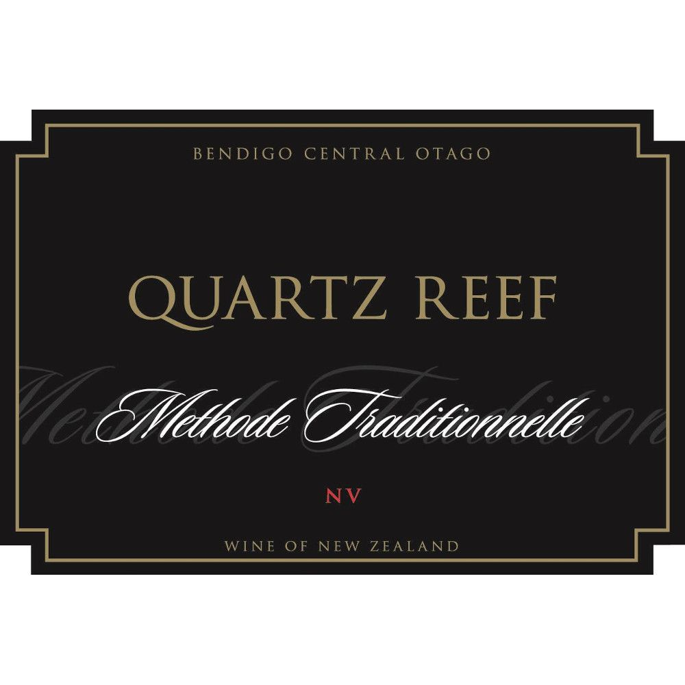 Quartz Reef Methode Traditionnelle Brut Front Label