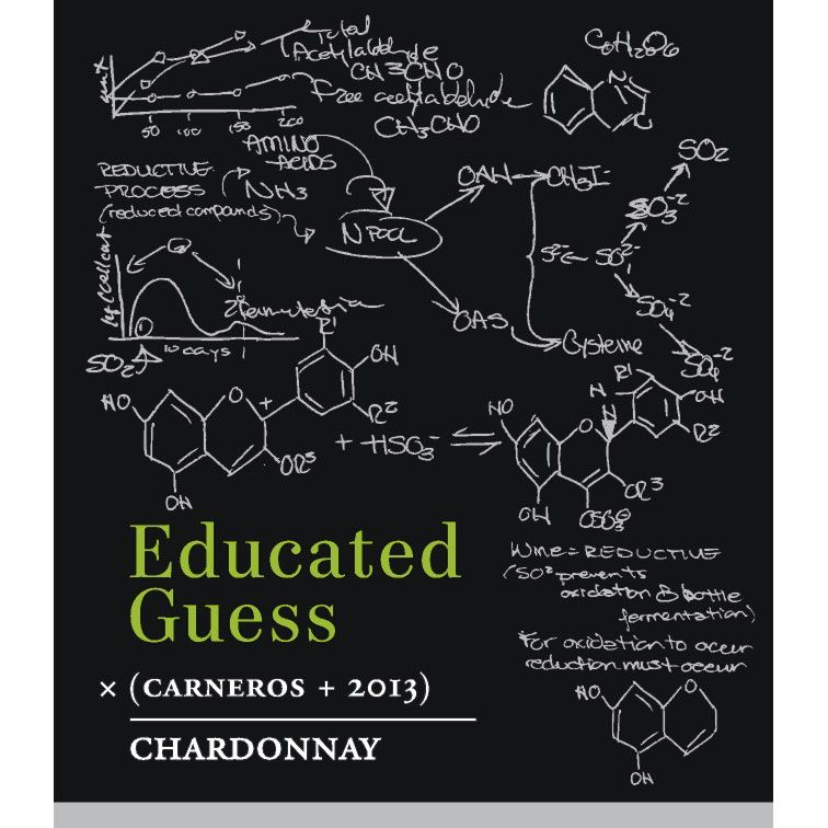 Roots Run Deep Educated Guess Chardonnay 2013 Front Label