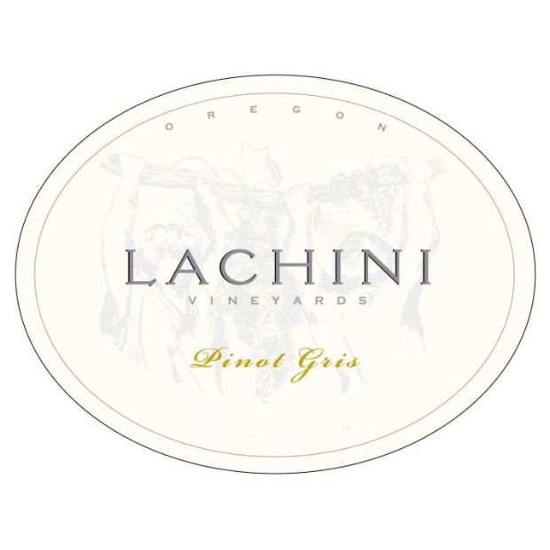 Lachini Vineyards Pinot Gris 2014 Front Label