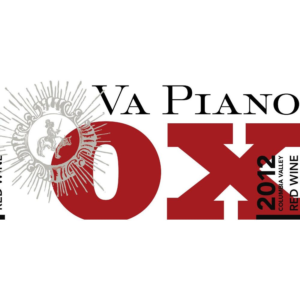 Va Piano OX Red Blend 2012 Front Label