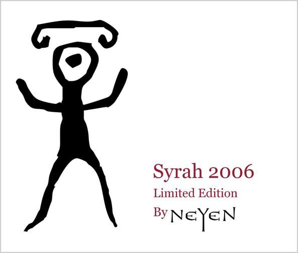 Neyen Limited Edition Syrah 2006 Front Label