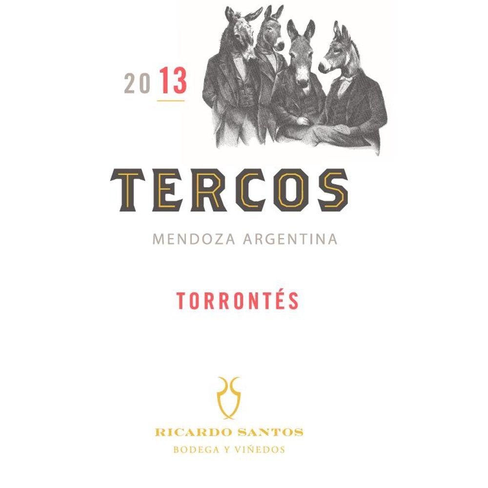 Tercos Torrontes 2013 Front Label