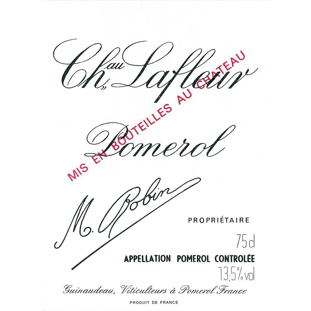 Chateau Lafleur  2014 Front Label
