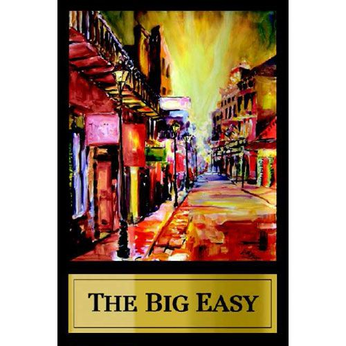 Fess Parker The Big Easy 2012 Front Label