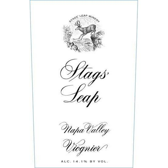 Stags' Leap Winery Viognier 2012 Front Label
