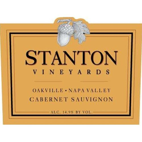 Stanton Vineyards Oakville Cabernet Sauvignon 2012 Front Label