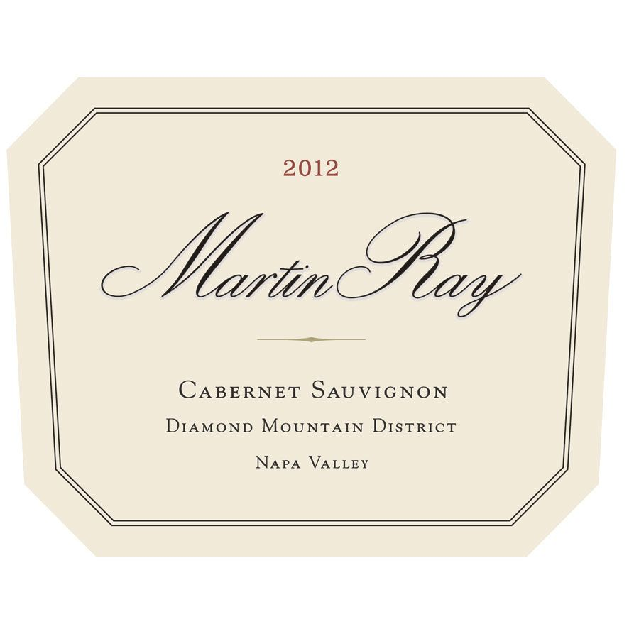 Martin Ray Diamond Mountain Cabernet Sauvignon 1997 Front Label