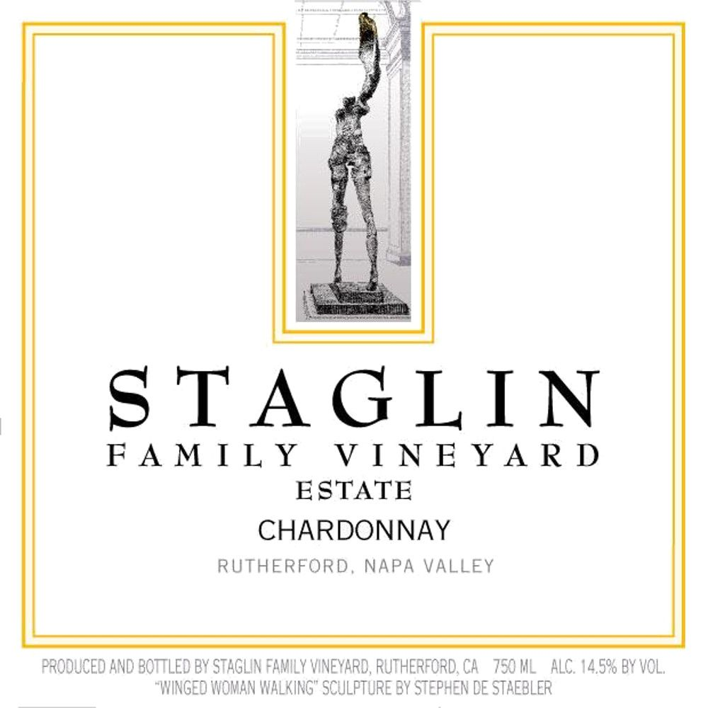 Staglin Chardonnay 2013 Front Label