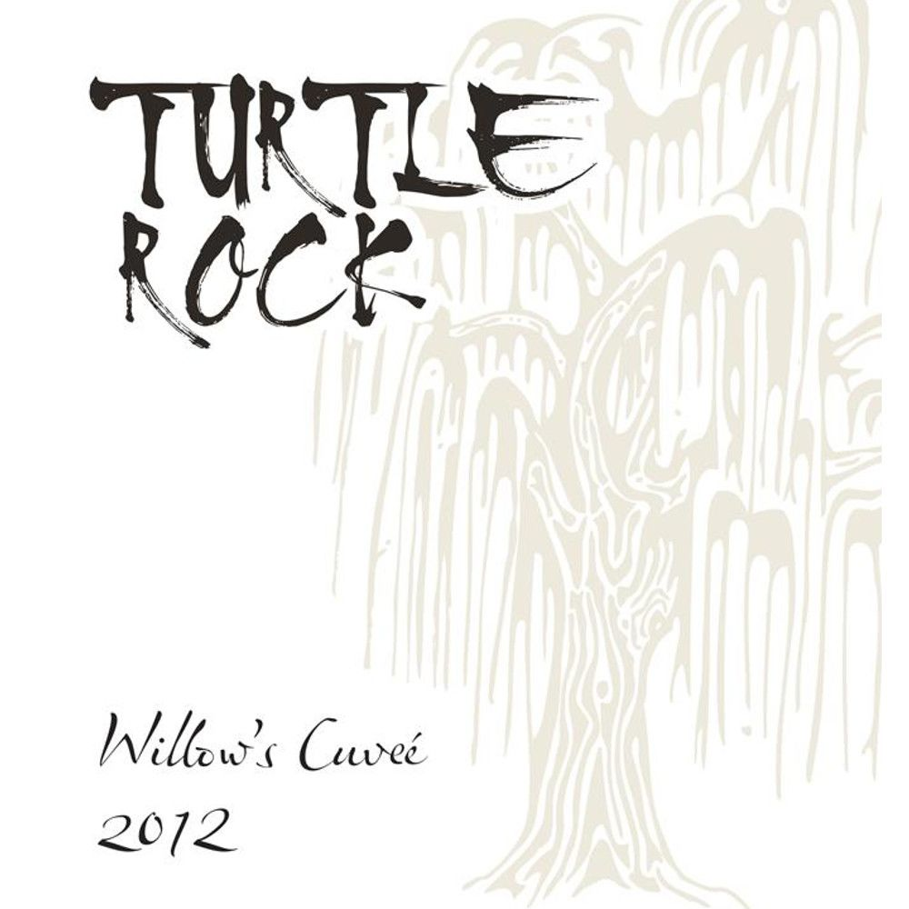 Turtle Rock Vineyards Willow's Cuvee 2012 Front Label