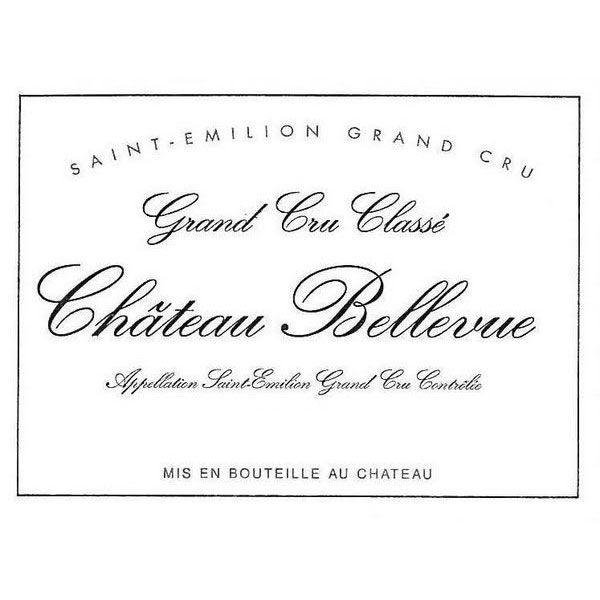 Chateau Bellevue  2014 Front Label