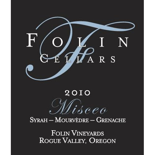 Folin Cellars Misceo 2010 Front Label