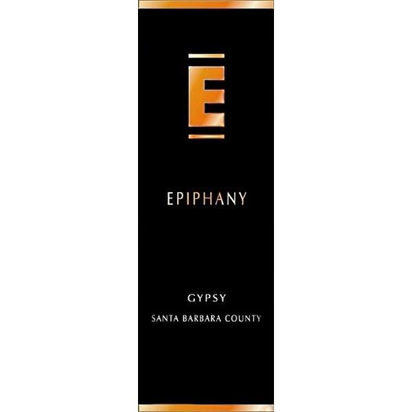 Epiphany Cellars by Fess Parker Gypsy 2012 Front Label