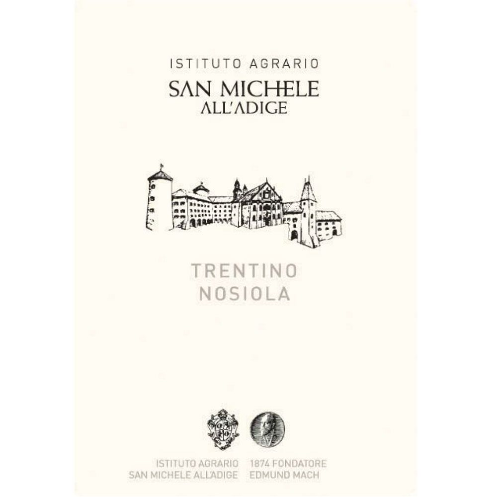 San Michele Nosiola 2013 Front Label