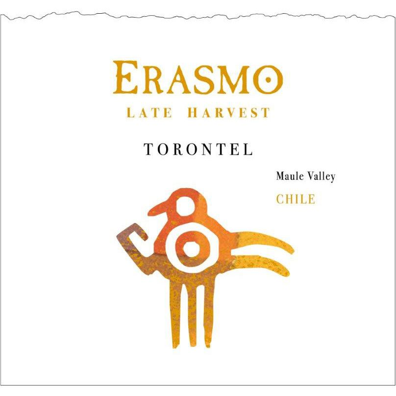Erasmo Late Harvest Torontel (375ML half-bottle) 2009 Front Label