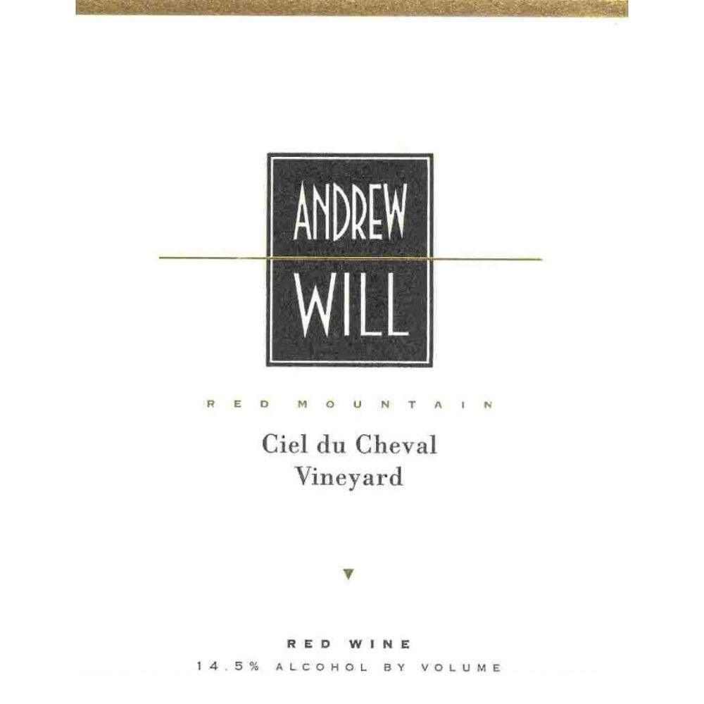 Andrew Will Winery Ciel du Cheval 2011 Front Label
