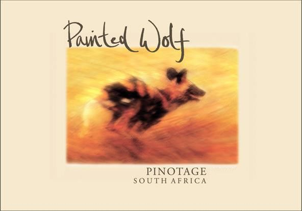 Painted Wolf The Black Pack Pinotage 2010 Front Label