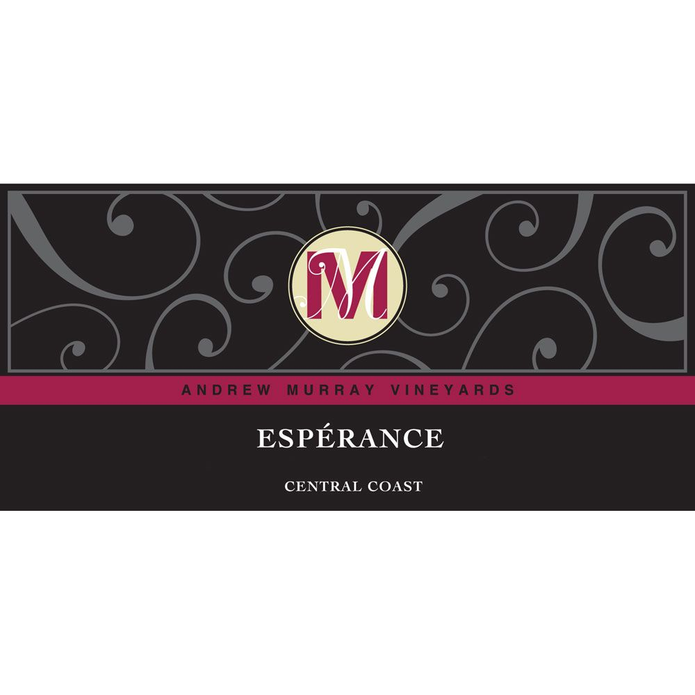 Andrew Murray Esperance Red Blend 2013 Front Label