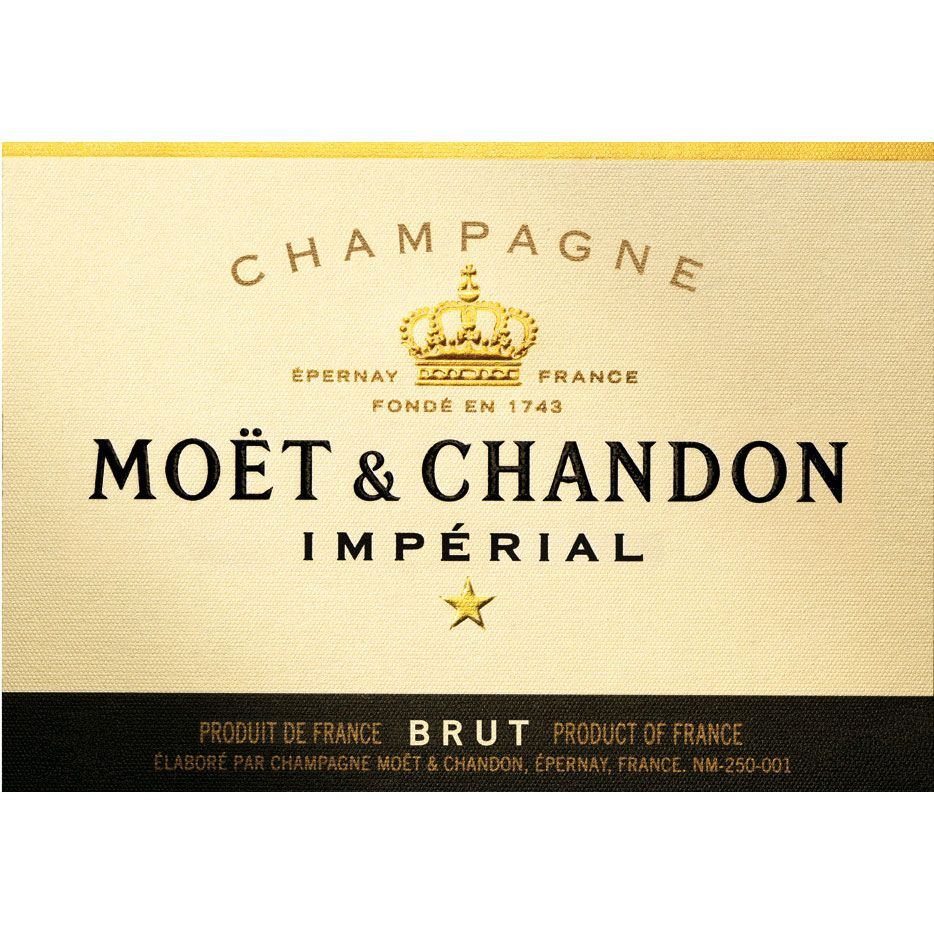 Moet & Chandon Imperial (187ML Split) Front Label