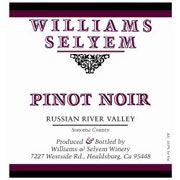 Williams Selyem Russian River Valley Pinot Noir 2007 Front Label