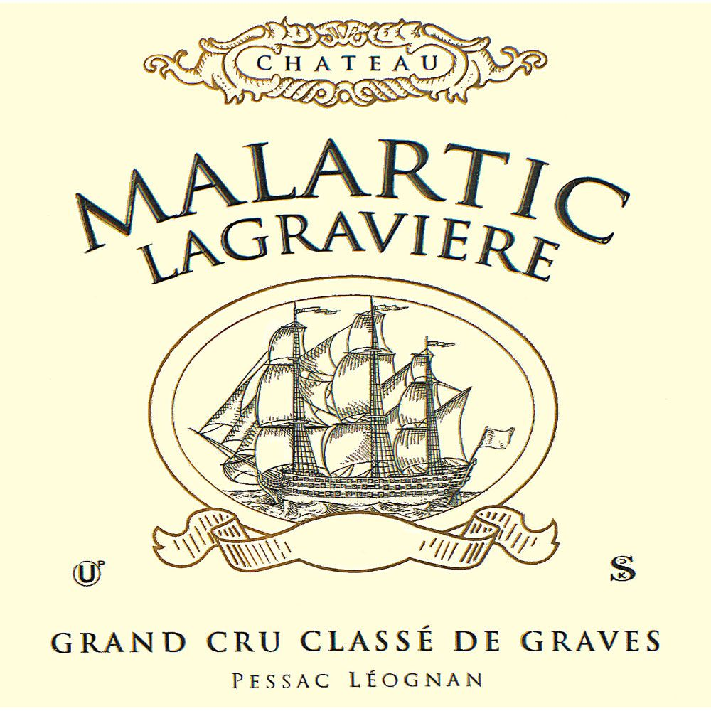 Chateau Malartic-Lagraviere  2012 Front Label