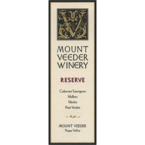 Mount Veeder Winery Reserve Red 2012 Front Label