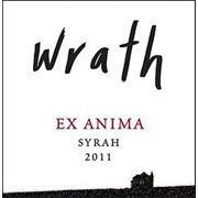 Wrath Ex Anima Syrah 2011 Front Label