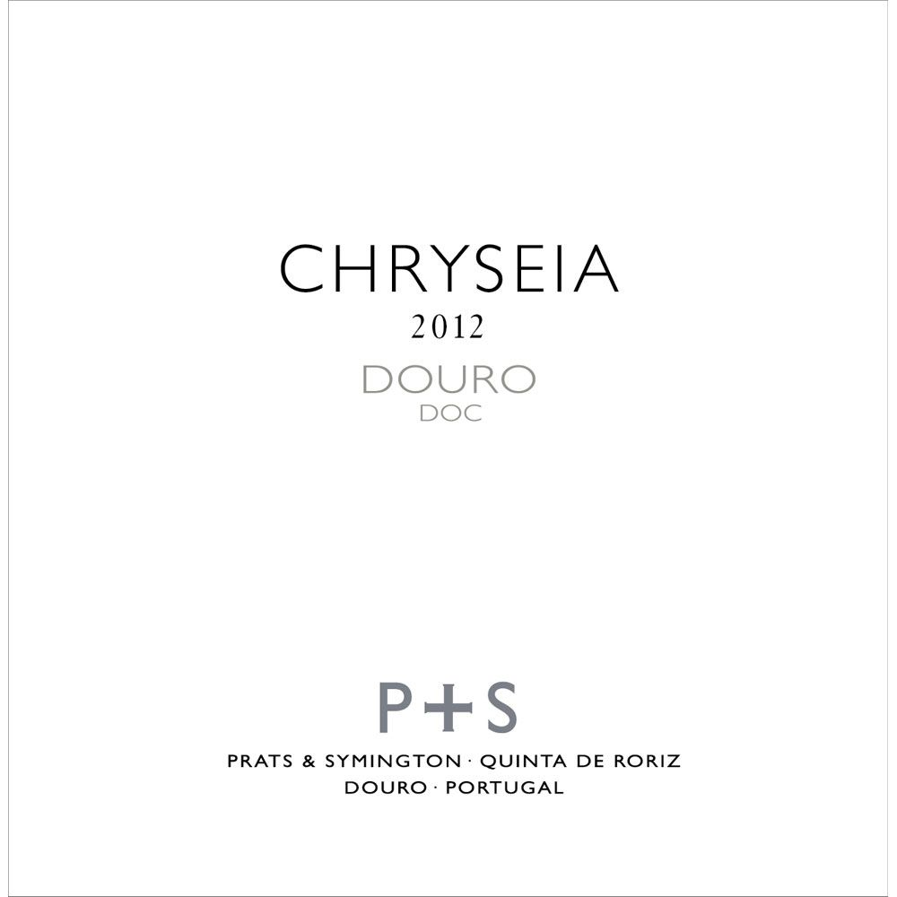 Prats & Symington Chryseia Douro 2012 Front Label