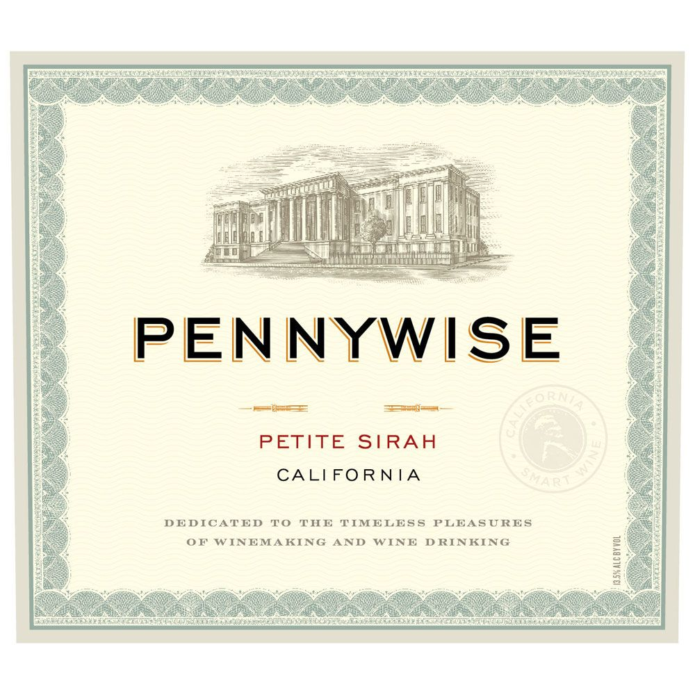 Pennywise Petite Sirah 2011 Front Label
