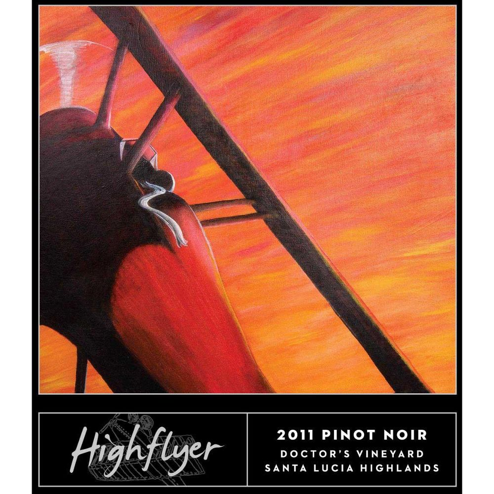 High Flyer Doctor's Vineyard Pinot Noir 2011 Front Label