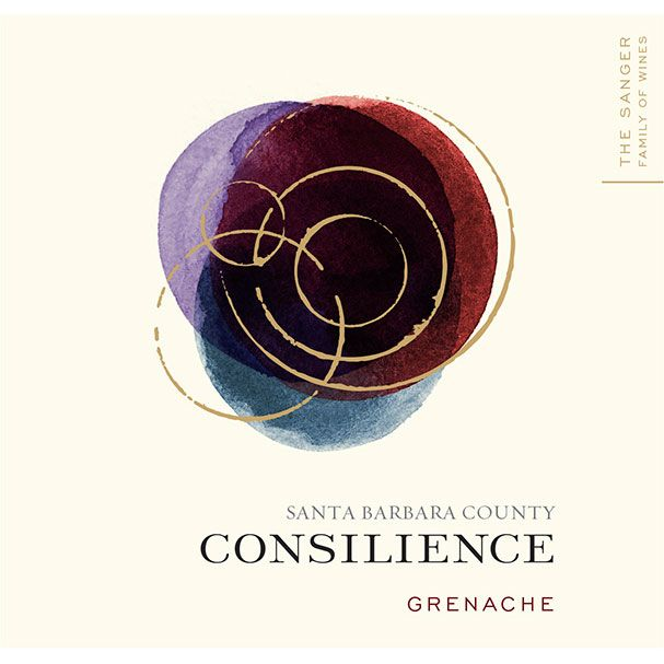 Consilience Grenache 2012 Front Label