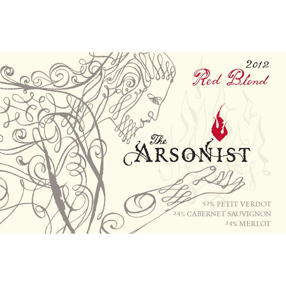 Matchbook Arsonist Red Blend 2012 Front Label