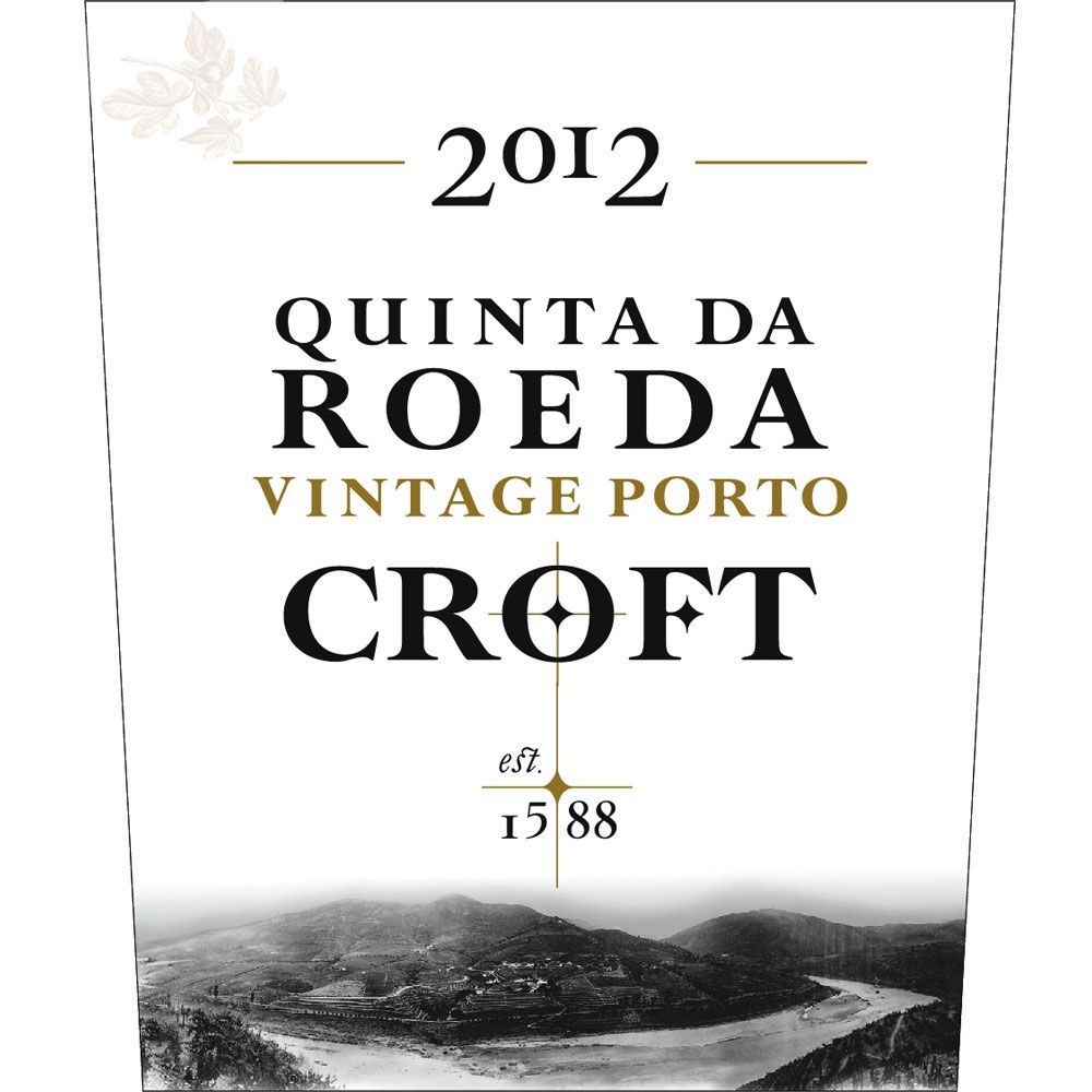 Croft Quinta Da Roeda 2012 Front Label
